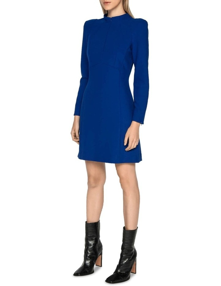 Long Sleeve Funnel Neck Dress image 1