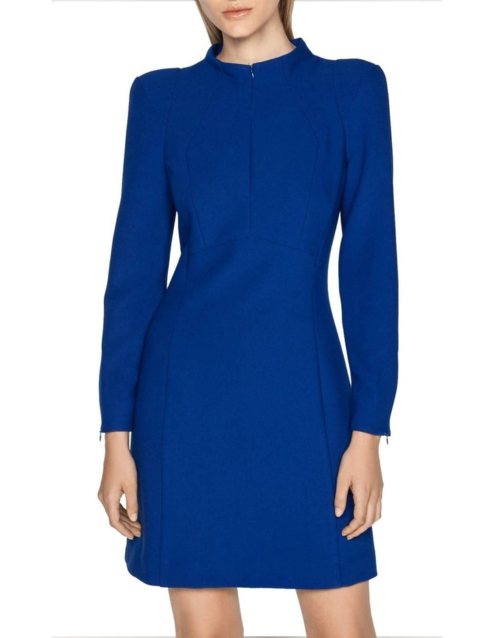Long Sleeve Funnel Neck Dress image 2