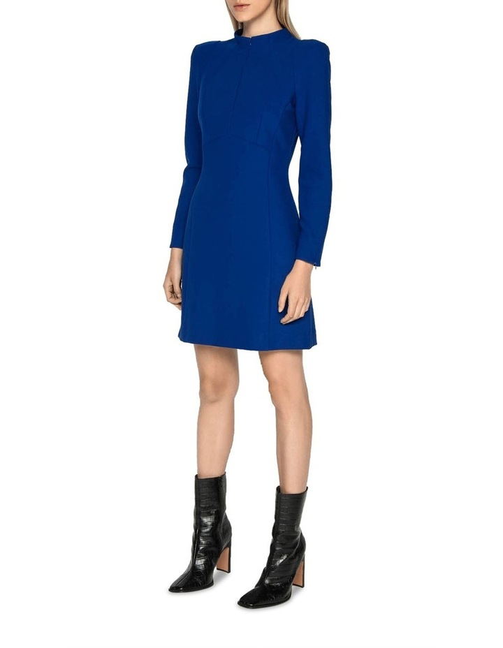 Long Sleeve Funnel Neck Dress image 5