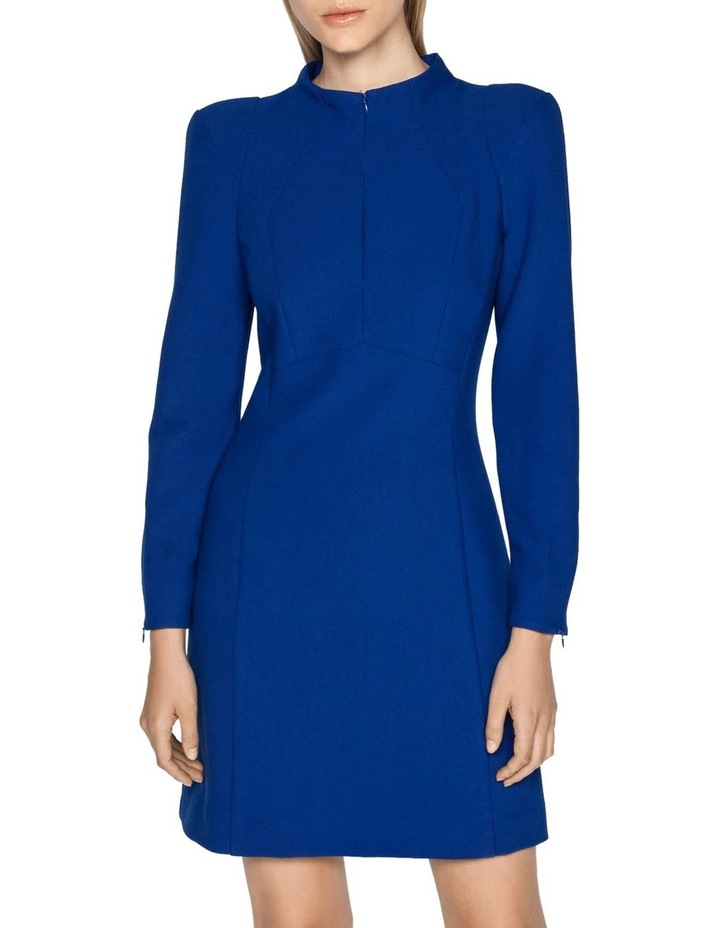 Long Sleeve Funnel Neck Dress image 6