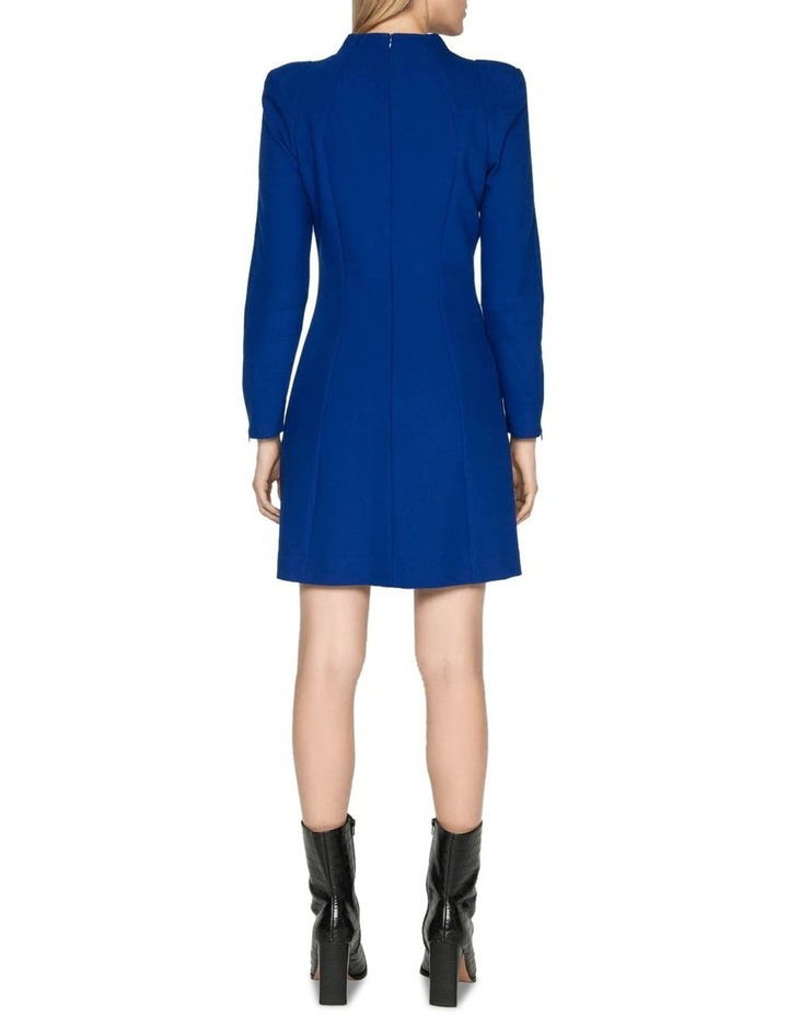 Long Sleeve Funnel Neck Dress image 7