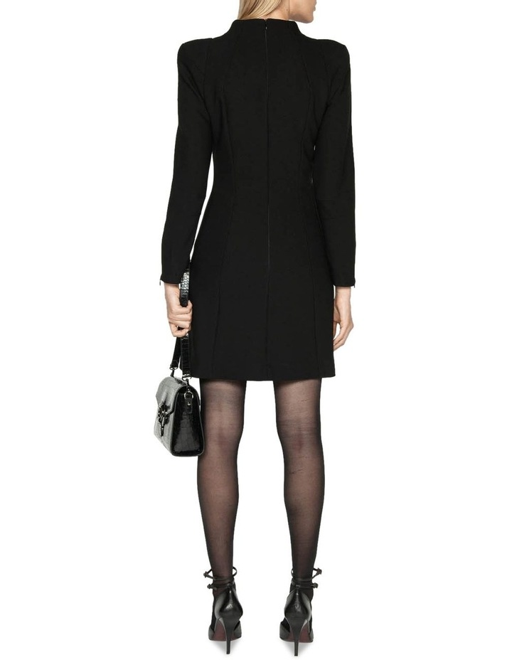 Long Sleeve Funnel Neck Dress image 3