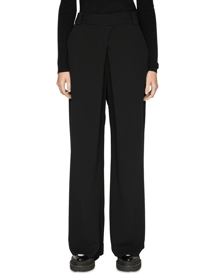 Tuck Front Wide Leg Pant image 2