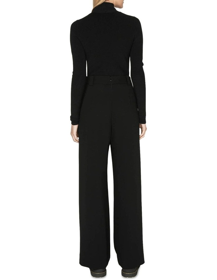Tuck Front Wide Leg Pant image 3