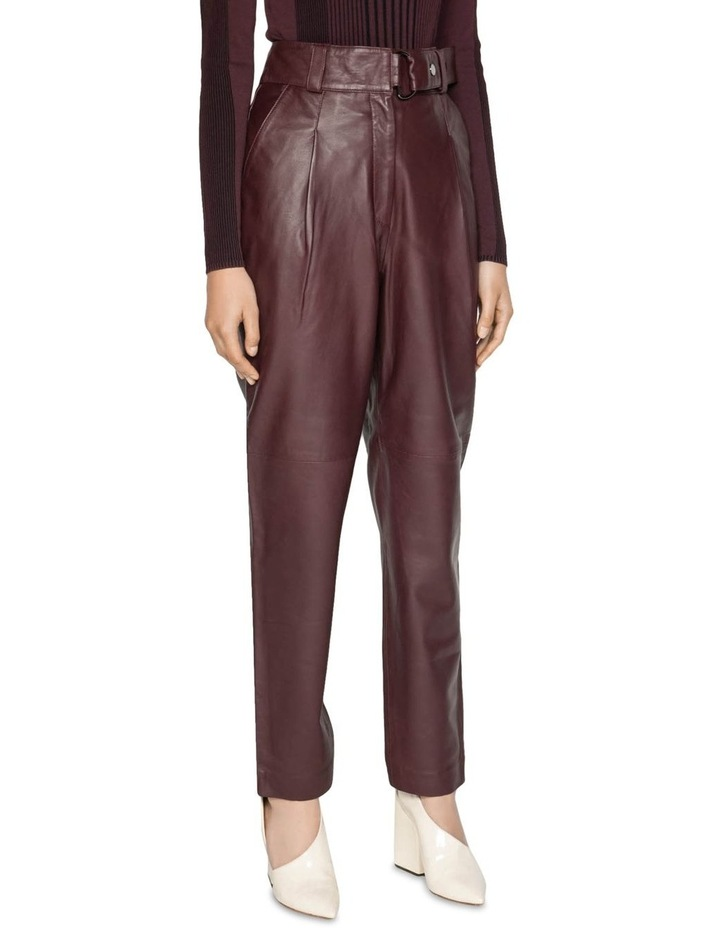 Leather Tailored Trouser image 2