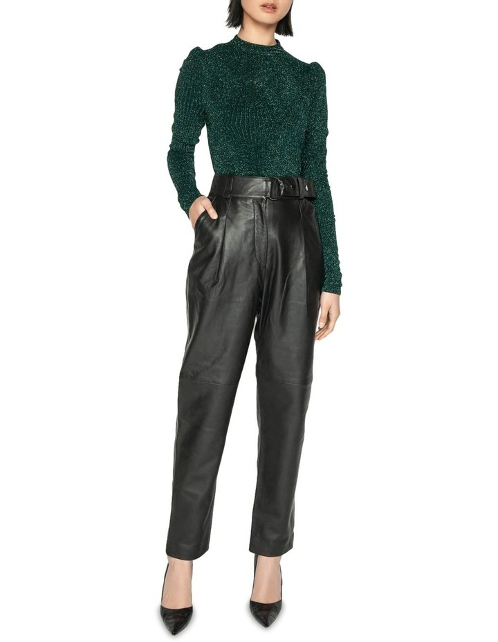 Leather Tailored Trouser image 1