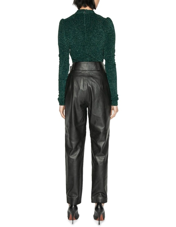 Leather Tailored Trouser image 3