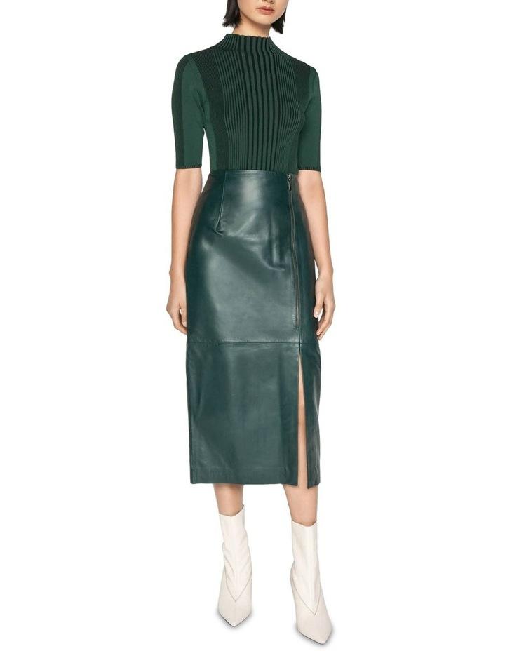Leather Pencil Skirt image 1