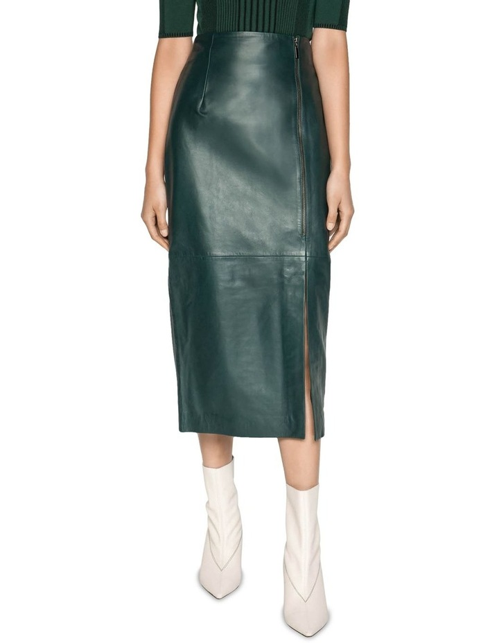 Leather Pencil Skirt image 2