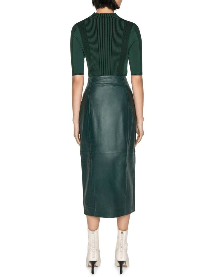 Leather Pencil Skirt image 3