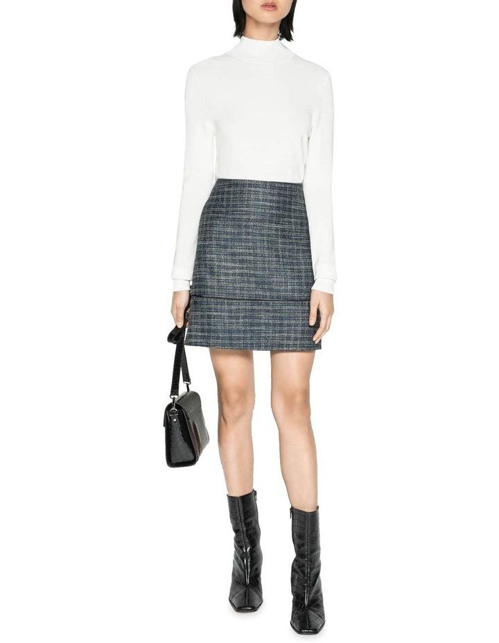 Melange Tweed Mini Skirt image 1