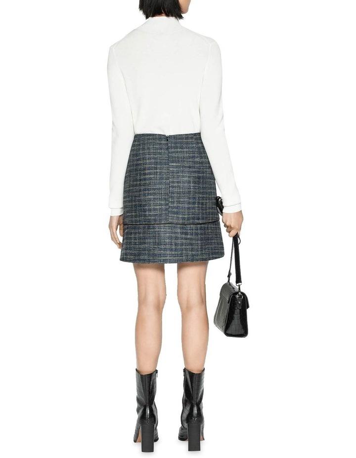 Melange Tweed Mini Skirt image 3