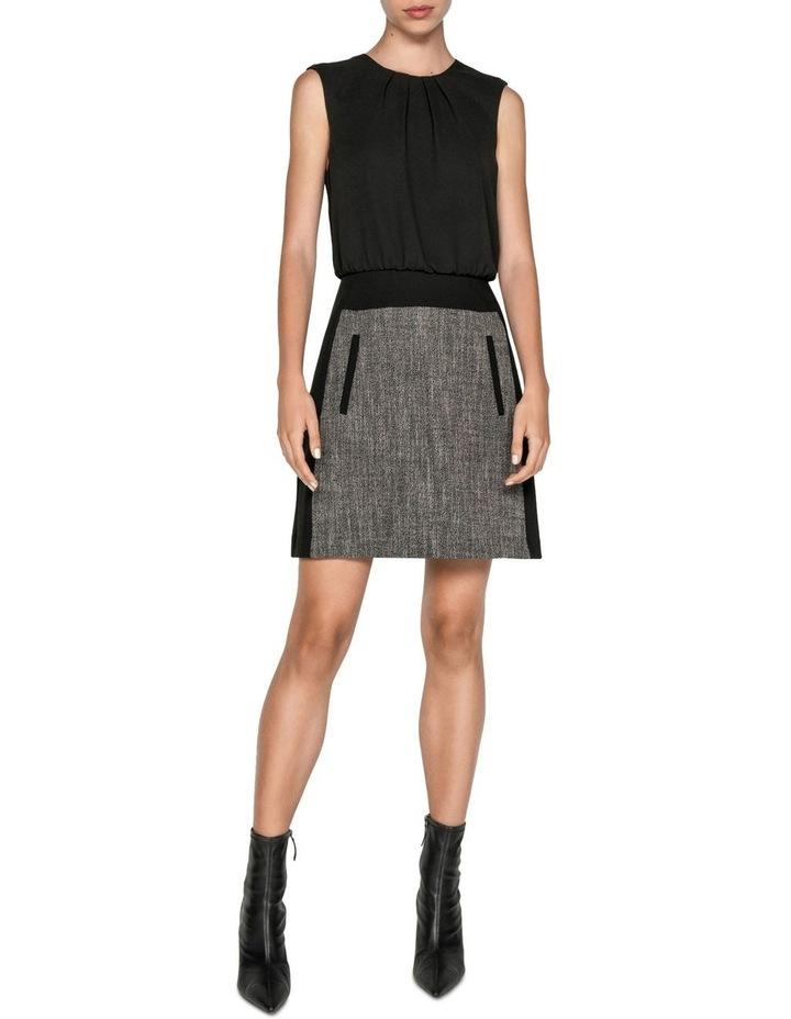 Melange Tweed Mini Dress image 1