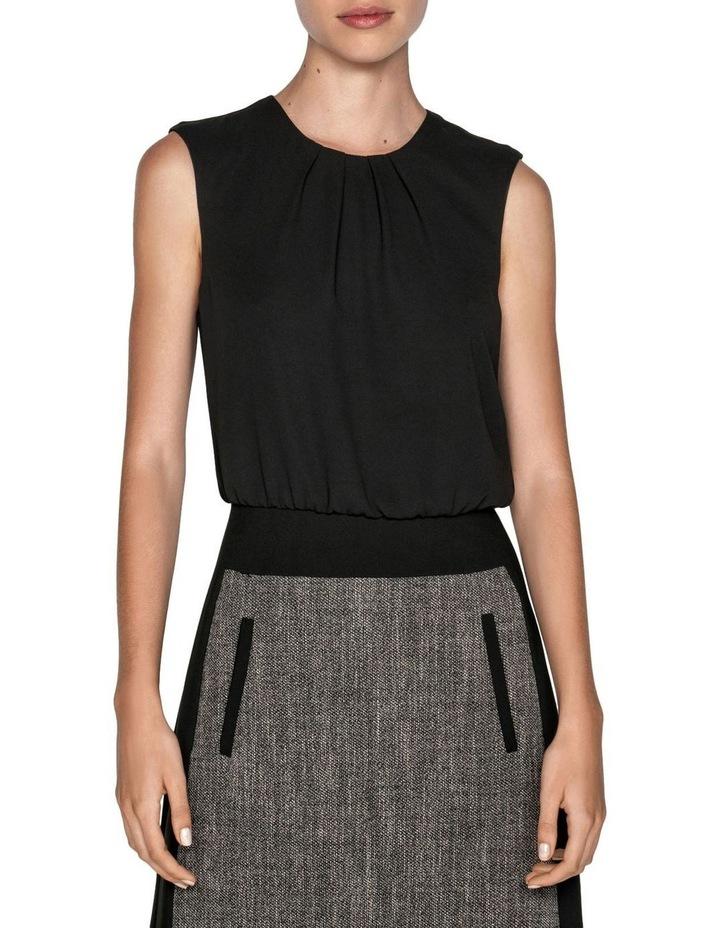Melange Tweed Mini Dress image 2