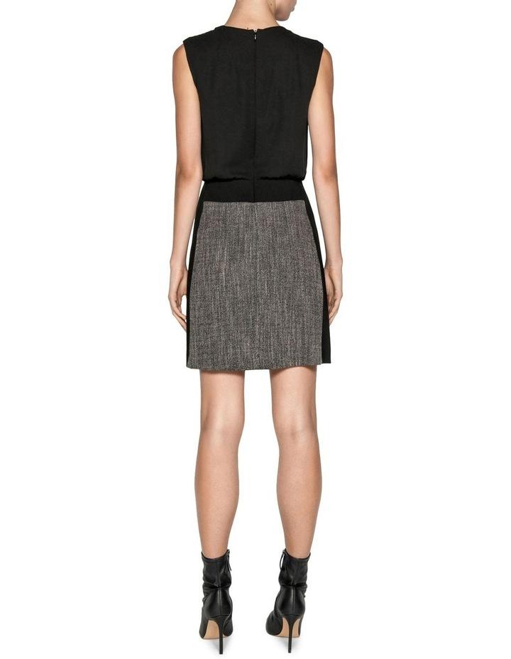 Melange Tweed Mini Dress image 3