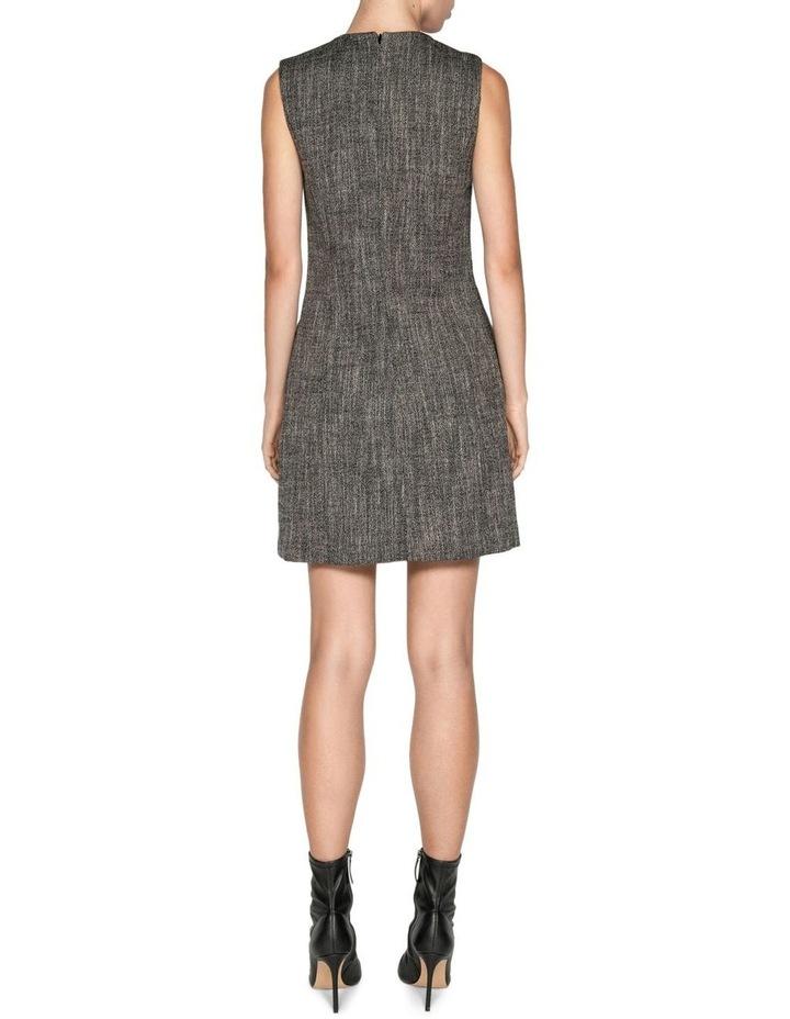Melange Tweed Button Front Dress image 3
