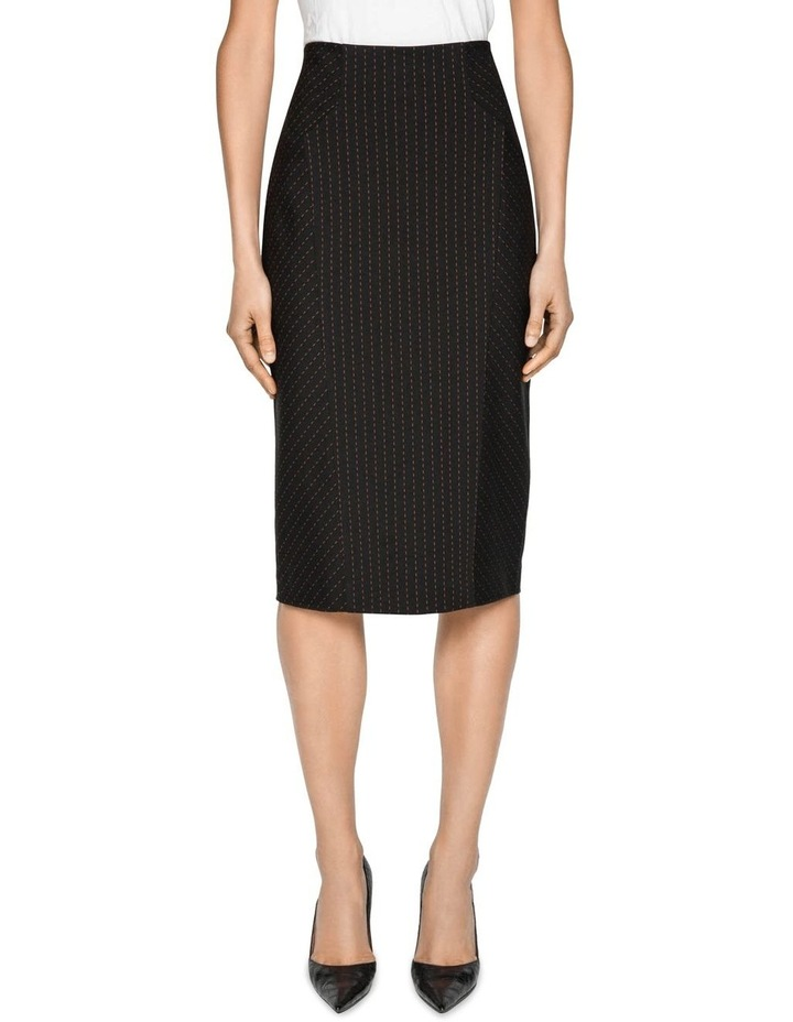 Striped Pencil Skirt image 2