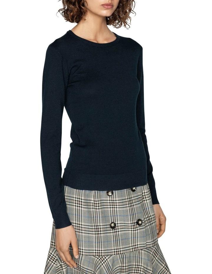 Round Neck Long Sleeve Knit image 2