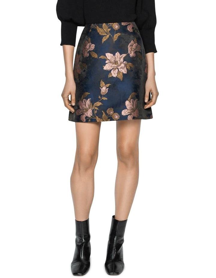 Rose Jacquard Mini Skirt image 1