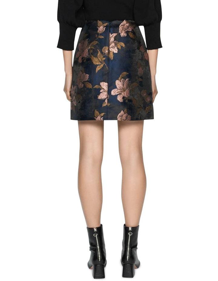 Rose Jacquard Mini Skirt image 3