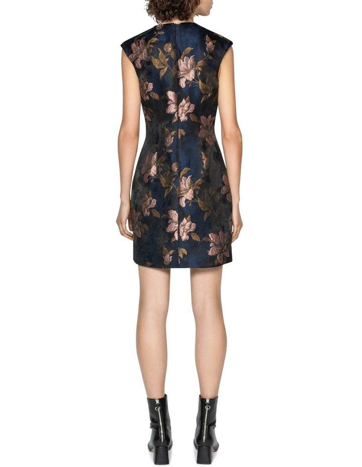 Rose Jacquard Shift Dress image 3