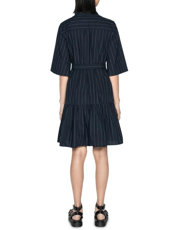 Cotton Pinstripe Shirt Dress image 3