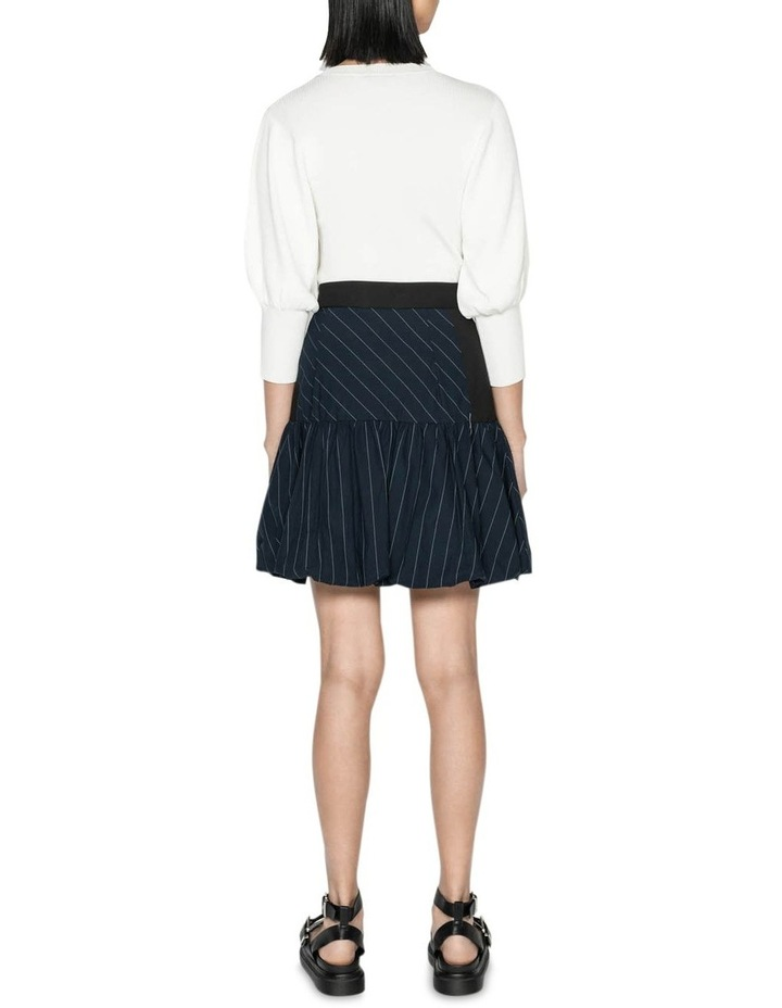 Pinstripe Bubble Skirt image 3