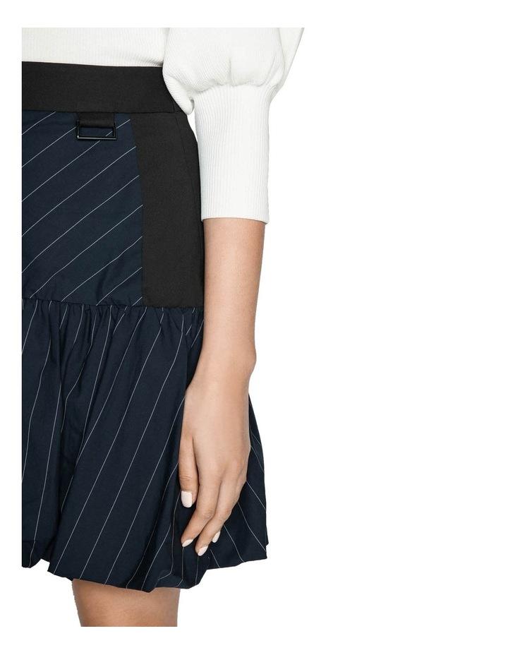 Pinstripe Bubble Skirt image 4