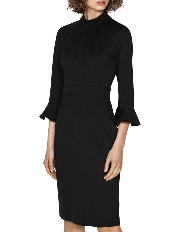 Draped Neck Pencil Dress image 2