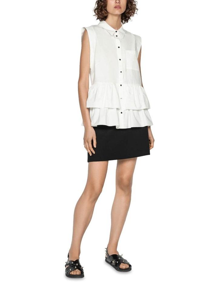 Cotton Double Frill Shirt image 1