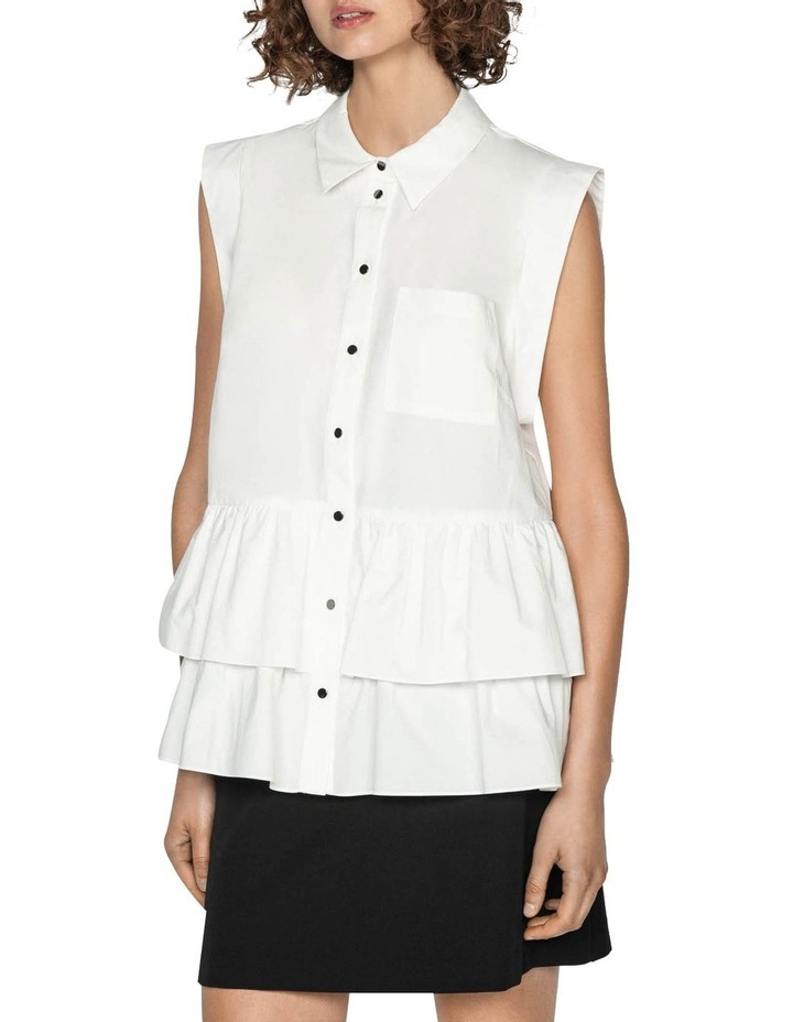 Cotton Double Frill Shirt image 2