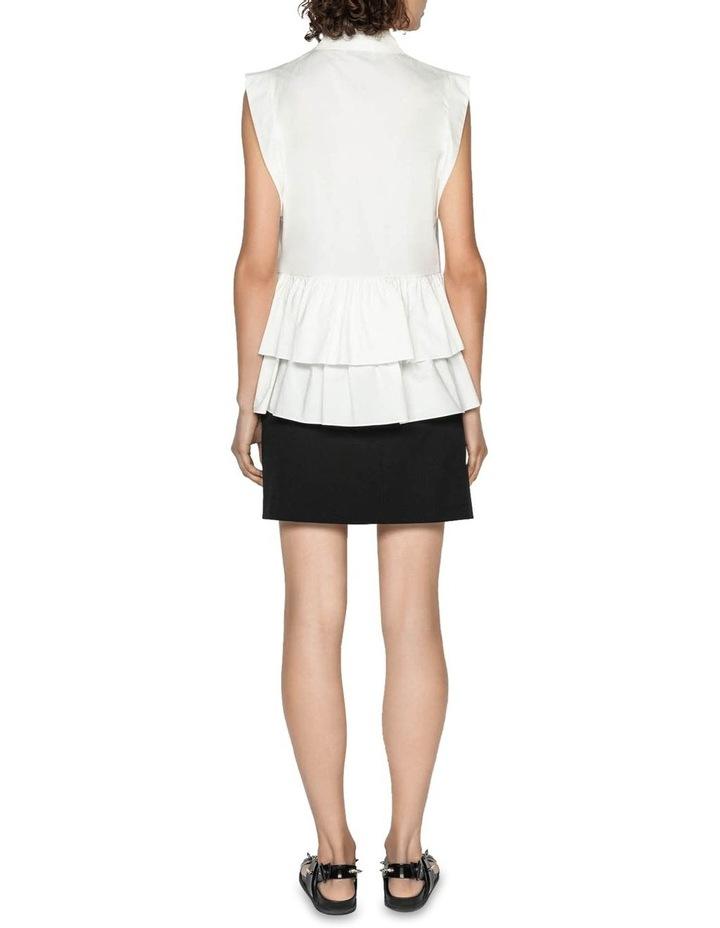 Cotton Double Frill Shirt image 3