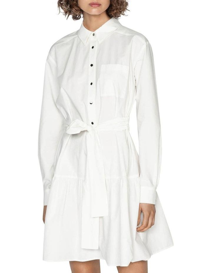 Cotton Belted Shirt Dress image 2