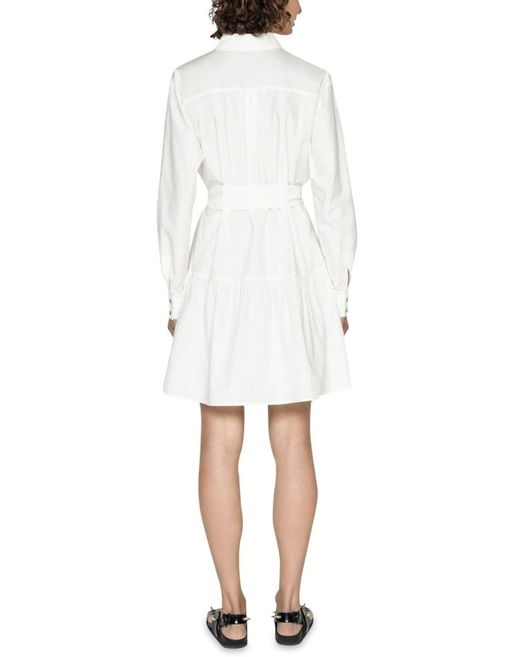 Cotton Belted Shirt Dress image 3