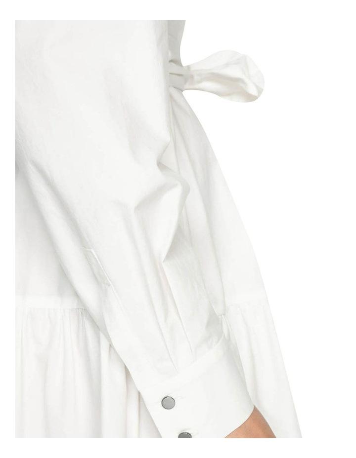Cotton Belted Shirt Dress image 4