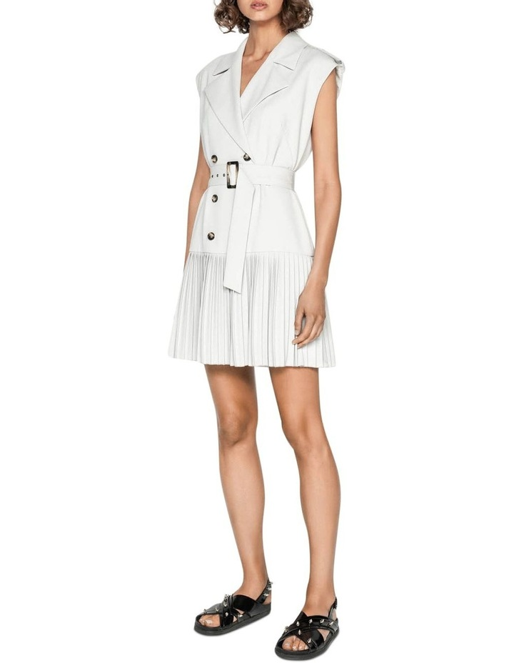Silver Trench Dress image 1