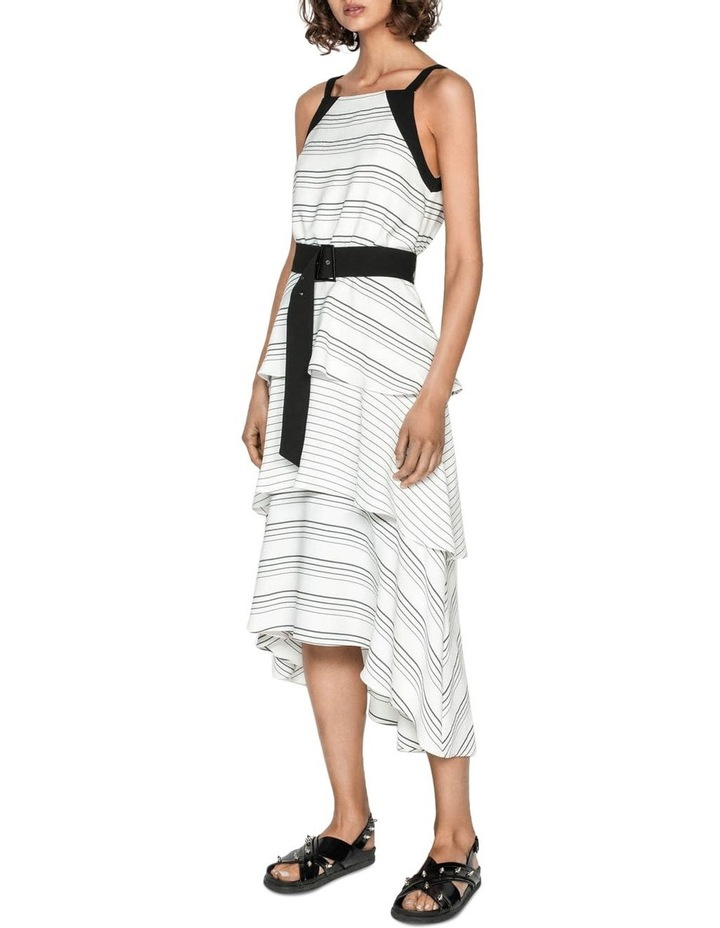 Quattro Stripe Midi Dress image 1