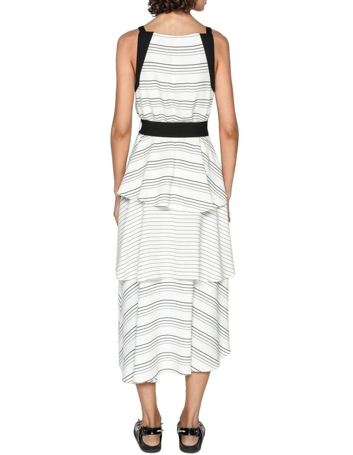 Quattro Stripe Midi Dress image 3