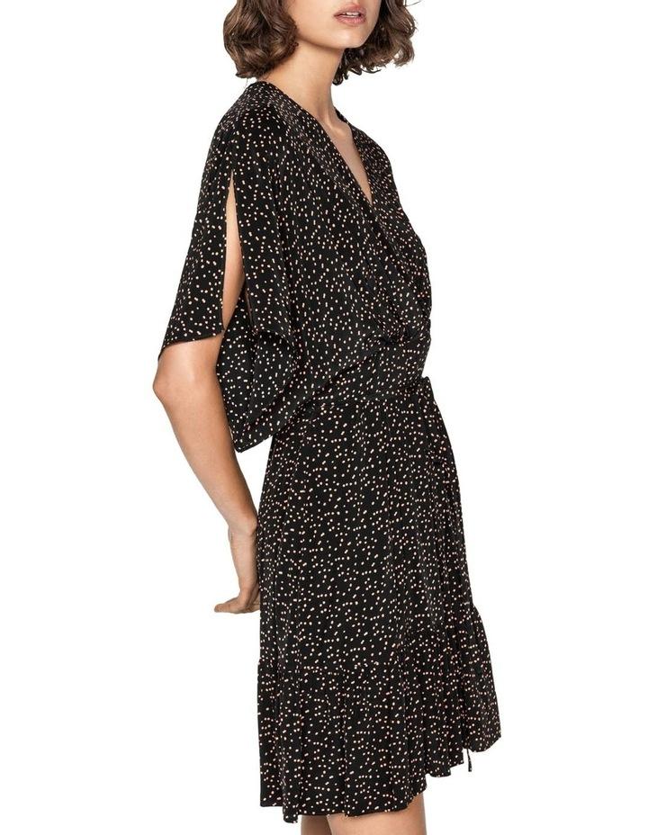 Scattered Spot Split Sleeve Dress image 2