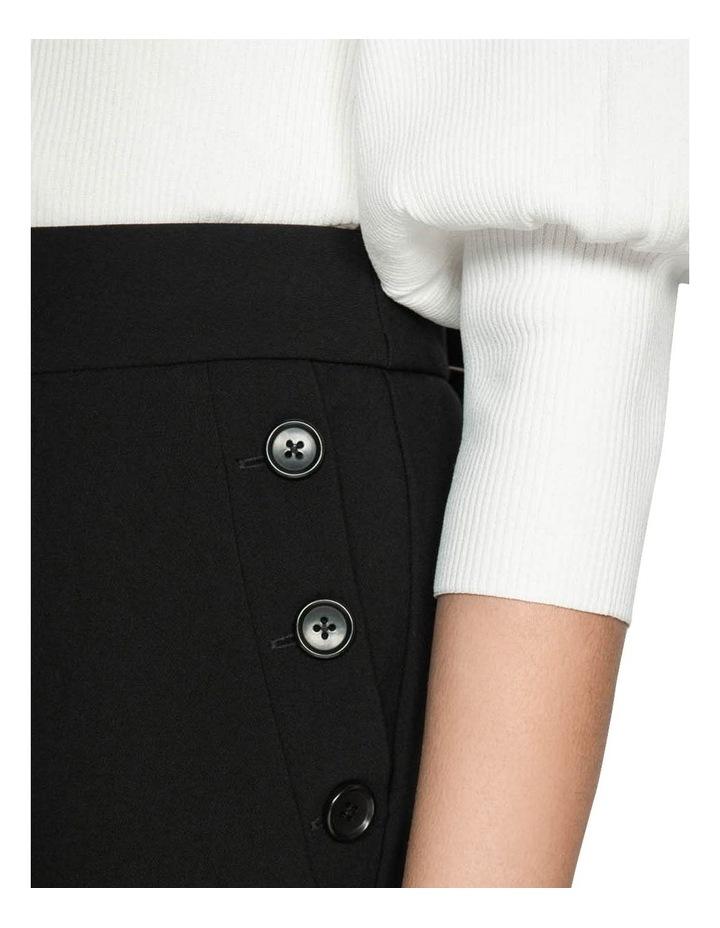Button Front Slim Leg Pant image 4