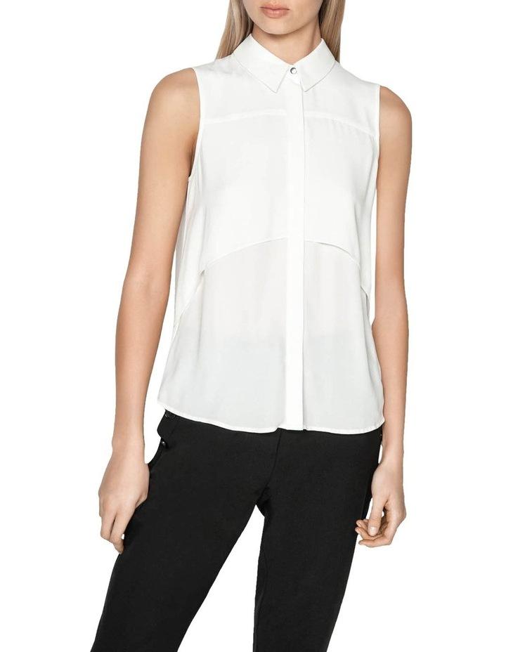 Layered Shaped Hem Shirt image 2