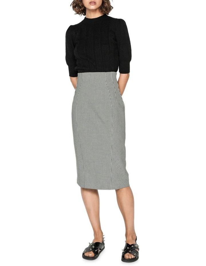 Gingham Pencil Skirt image 1
