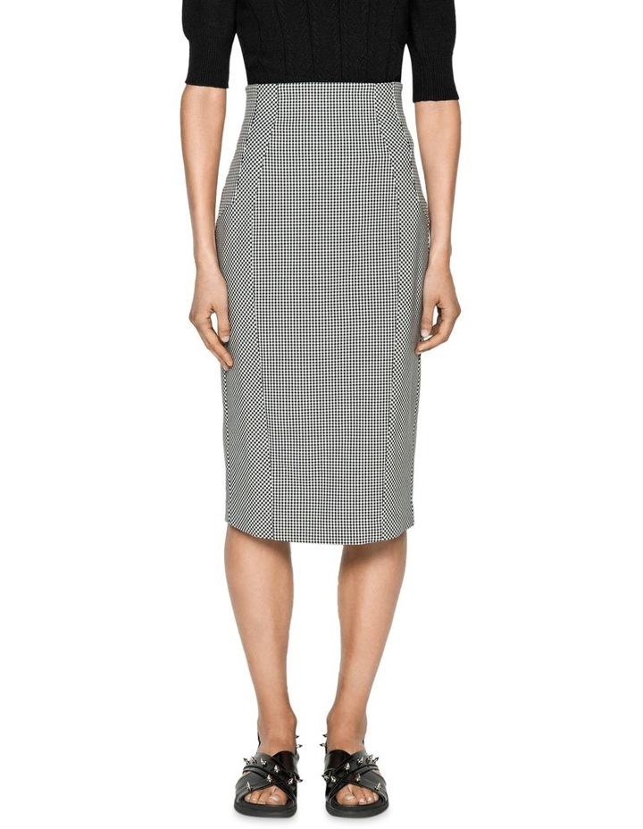 Gingham Pencil Skirt image 2