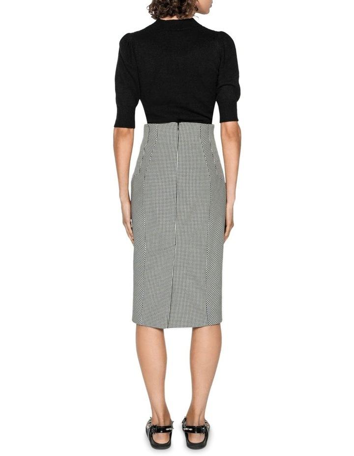 Gingham Pencil Skirt image 3