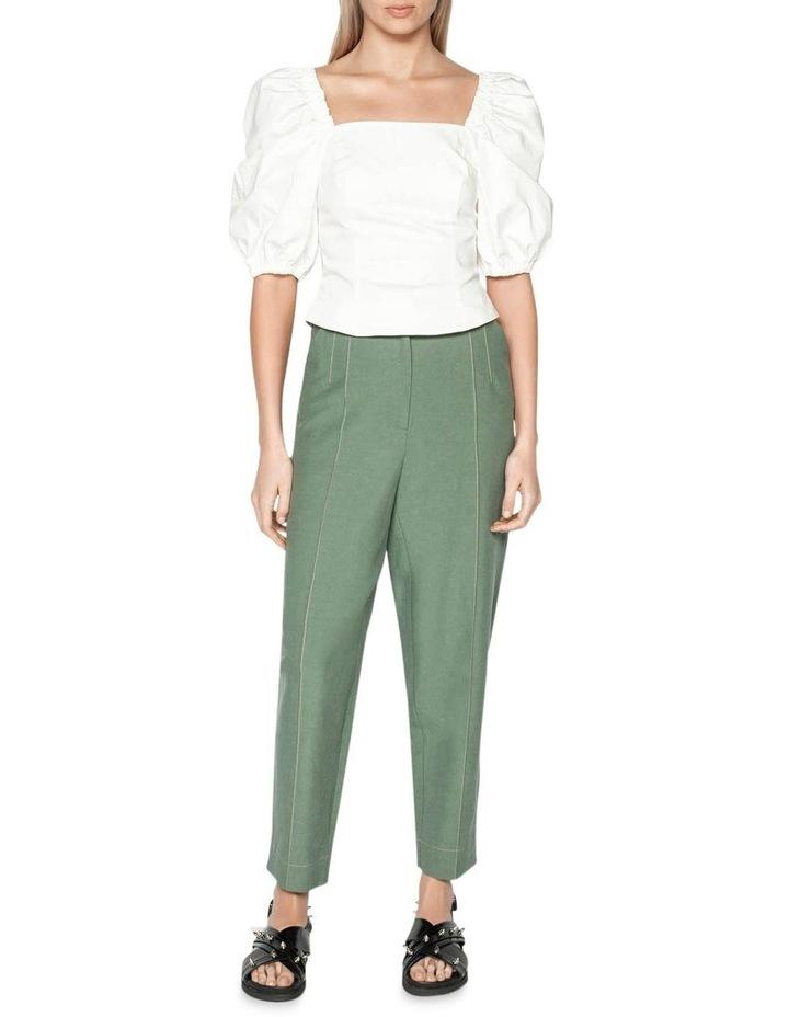 Tencel Cotton Split Cuff Pant image 1