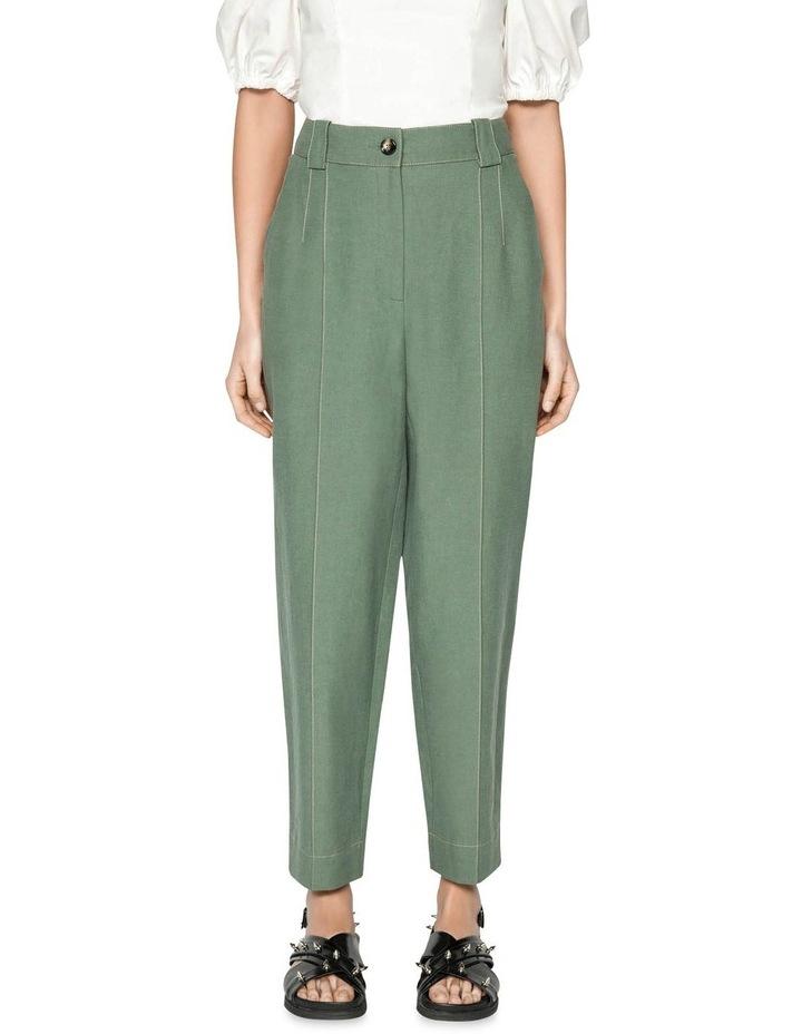 Tencel Cotton Split Cuff Pant image 2