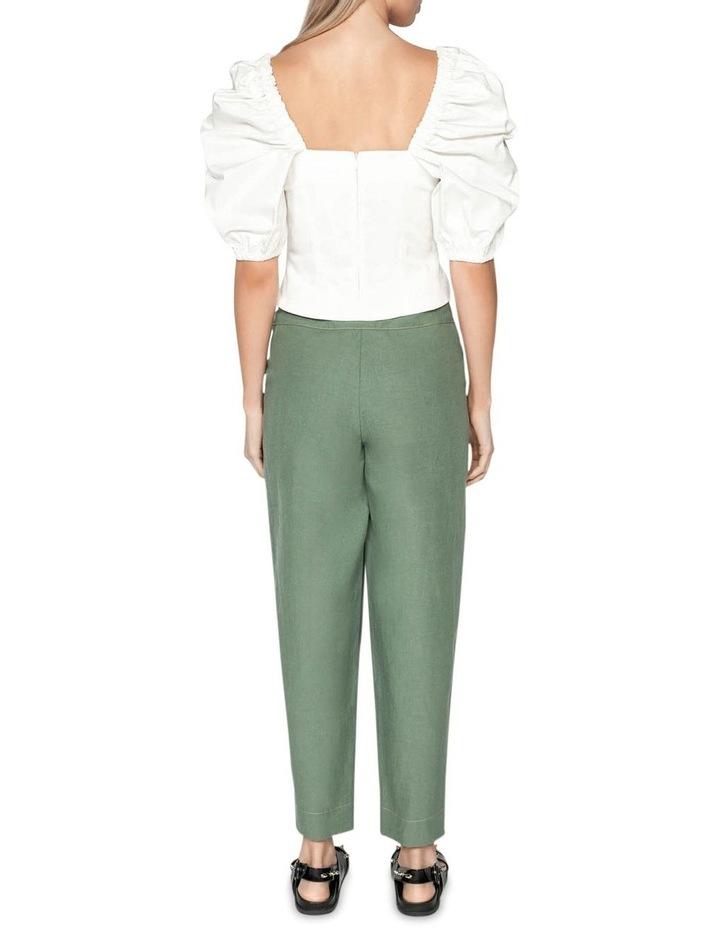 Tencel Cotton Split Cuff Pant image 3