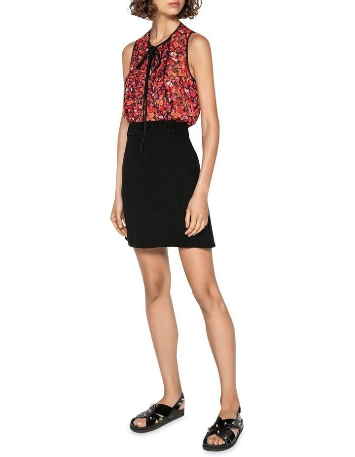 Crepe Mini Skirt image 1