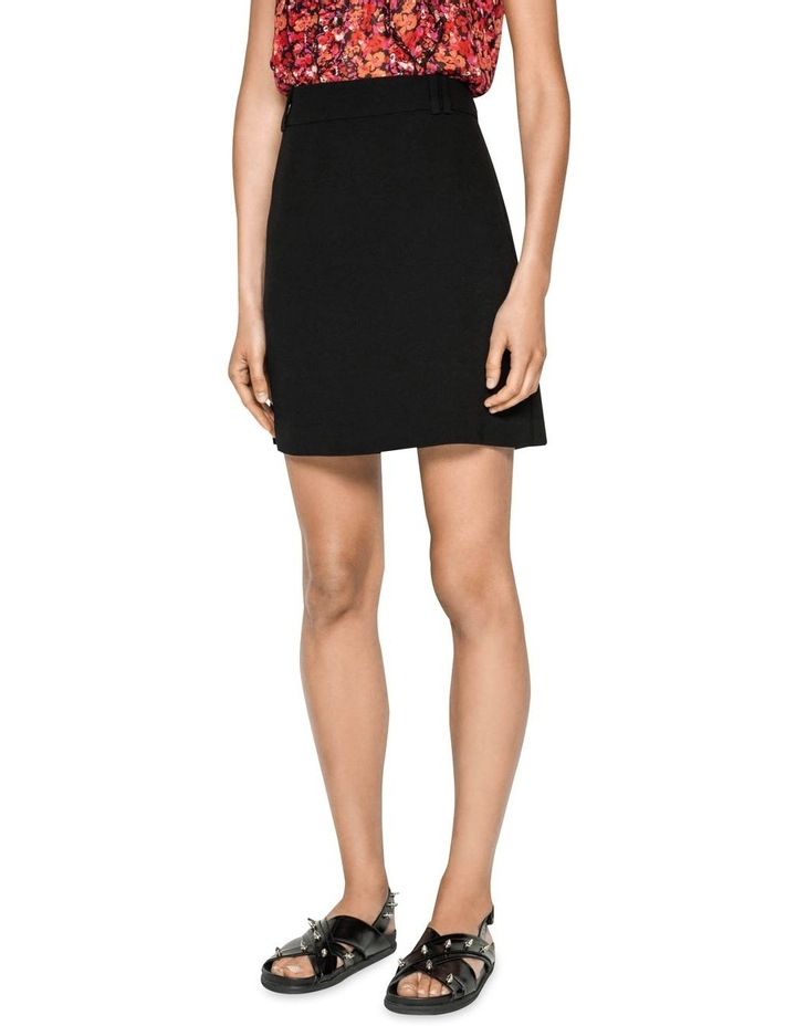 Crepe Mini Skirt image 2