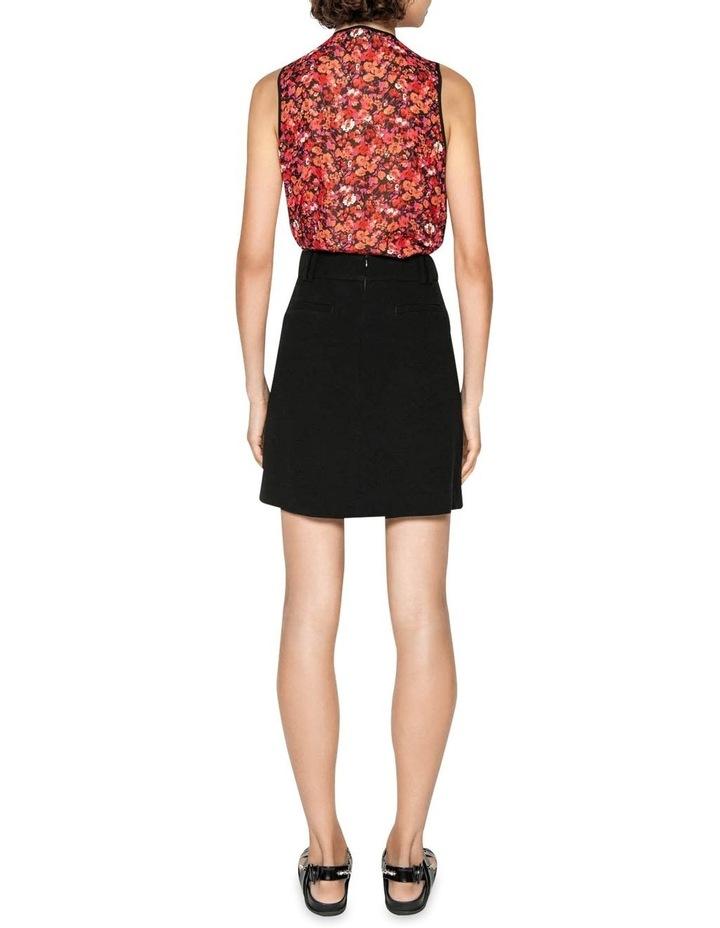 Crepe Mini Skirt image 3